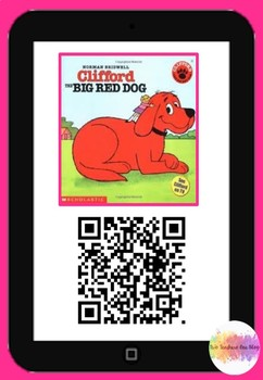 Clifford the Big Red Dog QR code comprehension pack