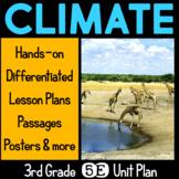 Climate 5E Science Unit Plan for Third Grade