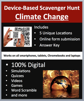 Climate Change – A Device-Based Scavenger Hunt Activity