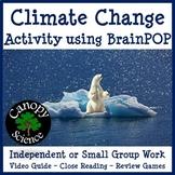 Climate Change Activity using BrainPOP