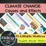 Climate Change Causes and Effects: Stations