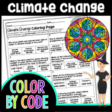 Climate Change Color By Number | Science Color By Number