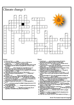 Climate Change Crosswords