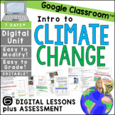 Climate Change Distance Learning Lesson