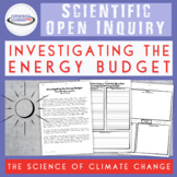Climate Change: Energy Budget Inquiry Lab