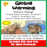 Global Warming, Climate Change Research Project!