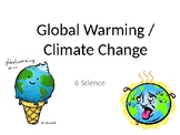 Climate Change PPT with pictures and descriptions