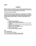 Climate Change Practice Argument Paper for the NYS Common