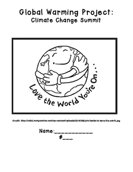 Climate Change Project: Research, Model, Poster & Presentation,