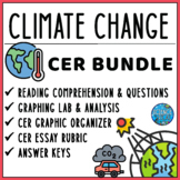 Climate Change CER Literacy and Graphing Lab Activity