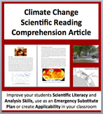 Climate Change: The Reality and Danger - Science Reading Article