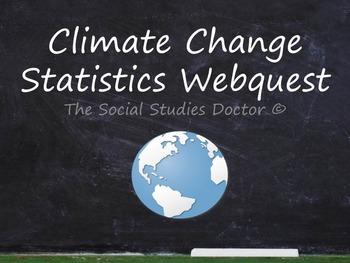 Climate Change Statistics Webquest