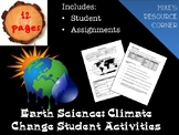 Climate Change Student Activities