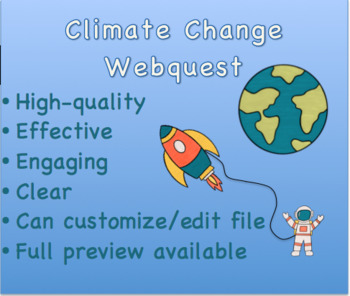 Climate Change Webquest- Great Earth Day Activity