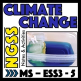 Climate Change and Global Warming Activities for MS-ESS3-5