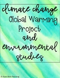 Climate Change and Global Warming Project