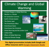 Climate Change and Global Warming Unit - Lessons, Assessments and Worksheets