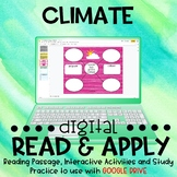 Climate DIGITAL Read and Apply for Distance Learning