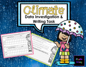 Climate Data Investigation and Writing Task