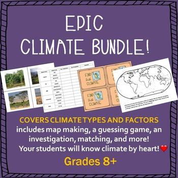 Climate Factors Bundle
