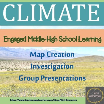 Climate Factors Map and Investigation
