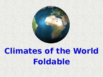 Climate Foldable