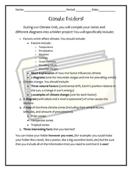 Climate Folder Final Project