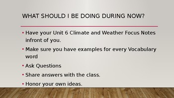 Climate Presentation and Free Focus Notes in Preview File