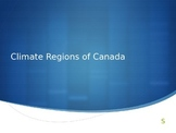 Climate Regions in Canada