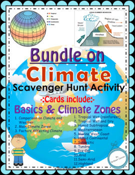 Climate Scavenger Hunt- An activity