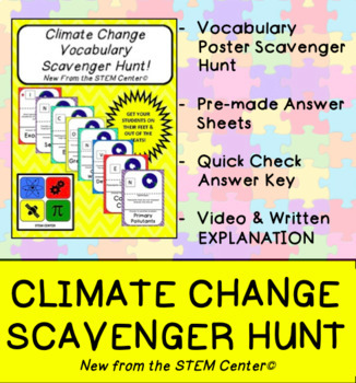 Climate Scavenger Hunt Game