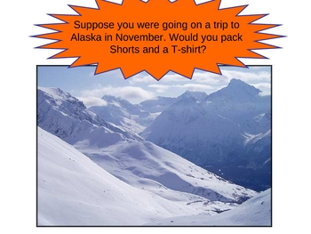 Climate: Temperate, Tropical, and Polar PowerPoint lesson