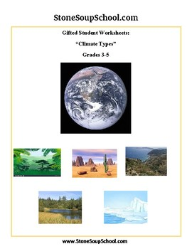 Gifted and Talented Climate Types