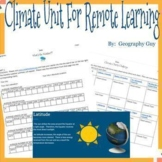 Climate Unit For Distance Learning ***NEW***