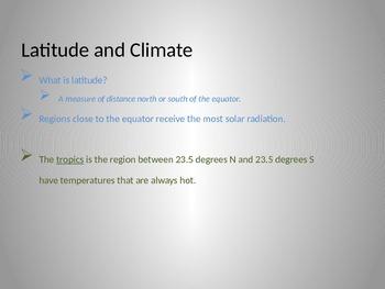 Climate Unit Plan