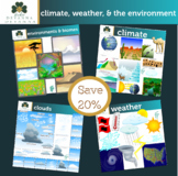 Climate Weather And The Environment Clip Art Bundle