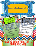 I can statements- Climate & Weather