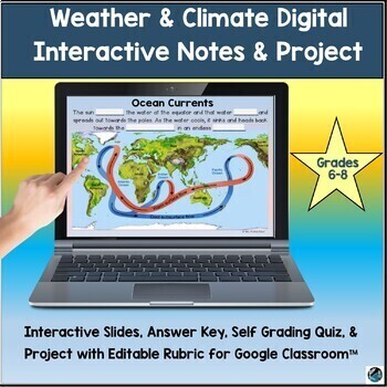 Climate zones teaching resources teachers pay teachers climate zone slide show project works towards ngss ms ess2 6 fandeluxe Gallery