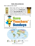 Climate Zones Bundle of 11 Lessons (2nd to 4th Grade)