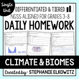 Climate and Biomes Homework