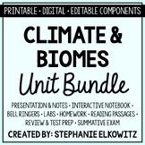 Climate and Biomes Unit Bundle