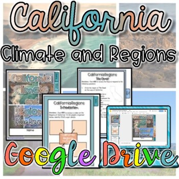 Regions and Climate of California {Digital}