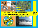 Climate and Weather 4 in 1 Pack for 4th Grade