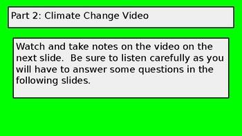 Climate change hyperdoc
