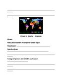 Climate partner worksheets