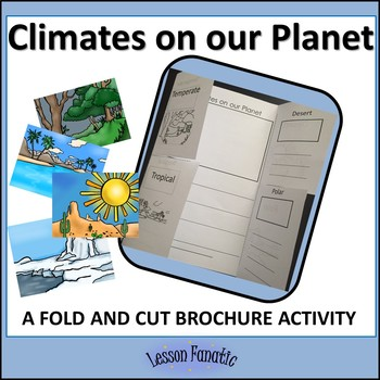 Climates on our Planet Brochure Activity