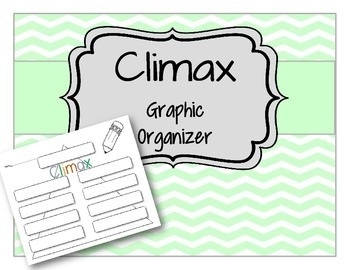 Climax of the Story Reading and Writing Graphic Organizer