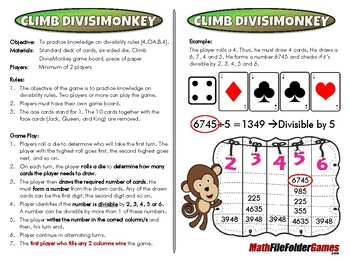 Climb DivisiMonkey - 4th Grade Game [CCSS 4.OA.B.4].