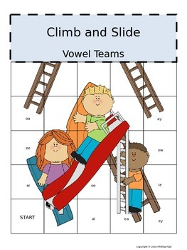 Climb and Slide Vowel Teams