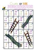 Climb or Slide - Super Fun Addition Game